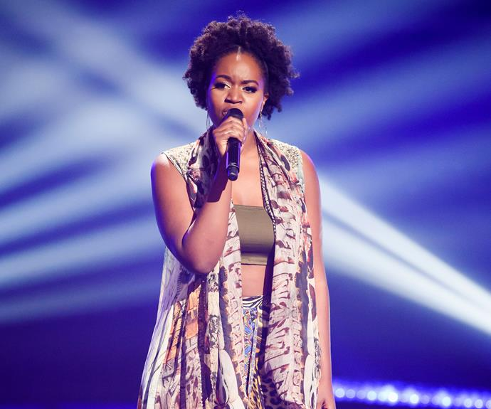 Ruva impressed the coaches during her blind audition.