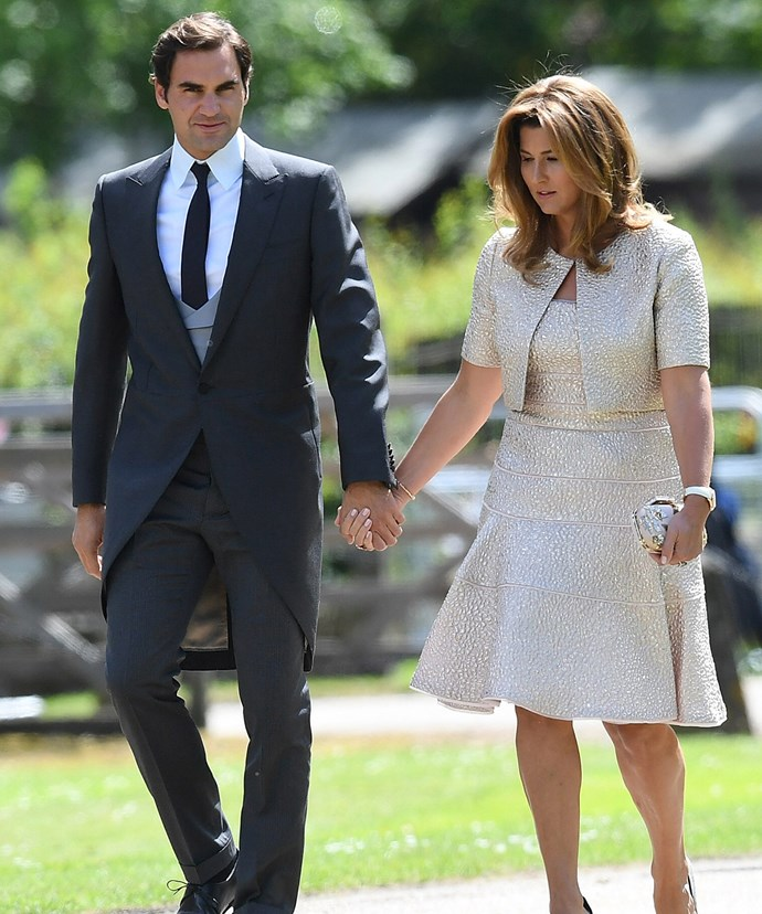 Roger and Mirka attended Pippa Middleton and James Matthews' wedding. *(Image: Getty Images)*