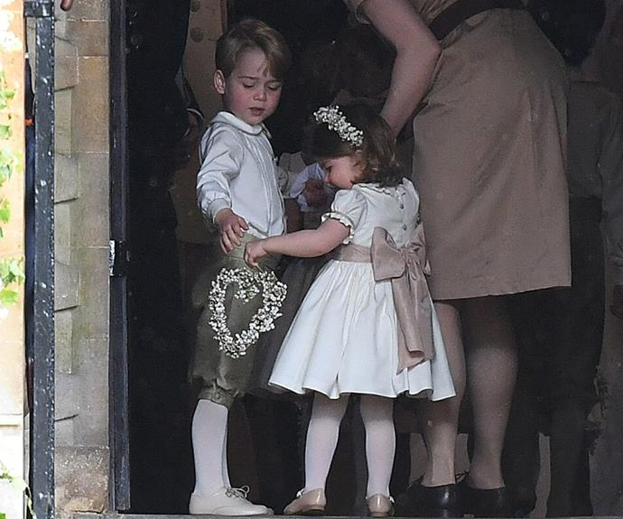 George and Charlotte steal the show.