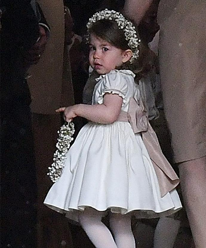 Princess Charlotte makes for the cutest bridesmaid.