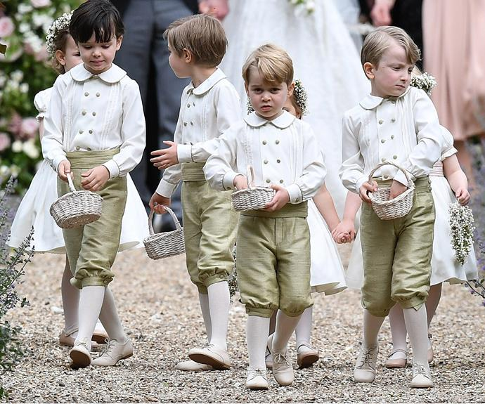 Prince George leads the pack.