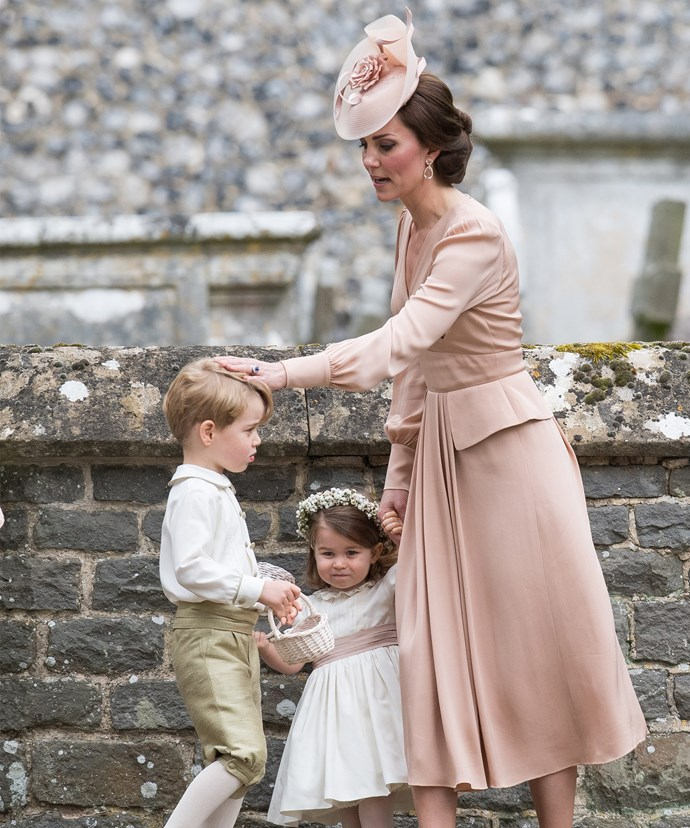 How adorable is Prince George's retro outfit?