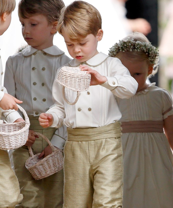 Our favourite royal tyke was the leader of the pack.