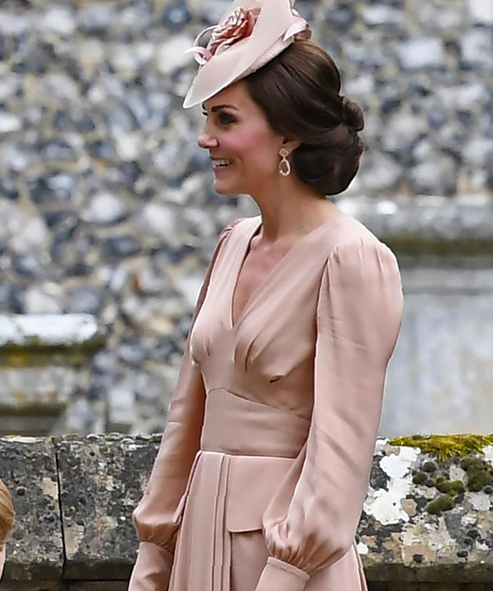 While she's clearly smitten with how stunning Pippa looks...