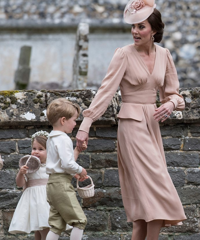 Prince George and Princess Charlotte stole the show as bridesmaid and pageboy at their aunt Pippa Middleton's wedding to financier James Matthews last year.