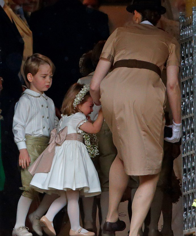 As Kate takes her seat, Charlotte realises the importance of her role.