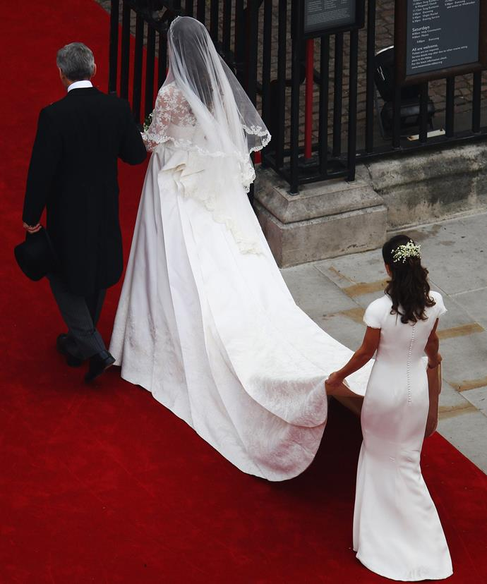 Pippa and her backside became an overnight sensation following her big sister's 2011 wedding day.