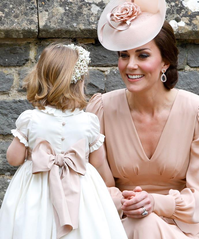 Kate was so impressed by her two-year-old.