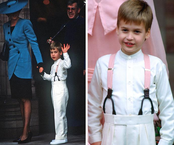 William served as a page boy at the 1988 wedding of Camilla Dunne and Rupert Soames, a grandson of former U.K. Prime Minister Winston Churchill.
