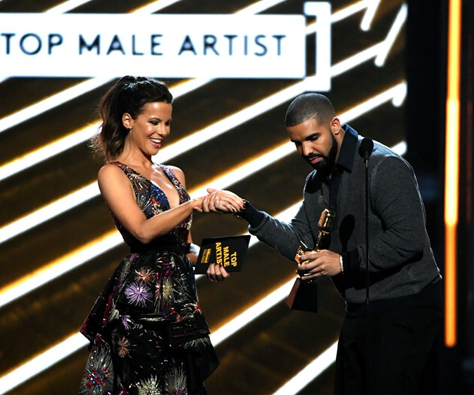 Drake takes out top male artist...