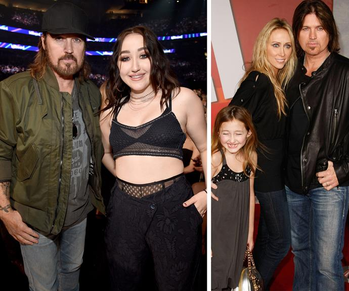 And she had her entire clan cheering her on. Noah and Billy Ray Cyrus announced her performance. And the singer's little sister has clearly inherited Liam Hemsworth's lover's panache for daring threads.