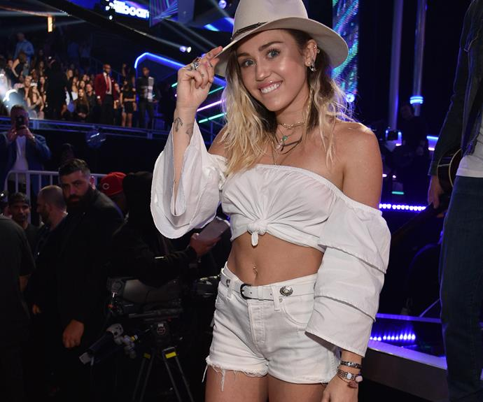 The 24-year-old just debuted her brand new single, *Malibu*.