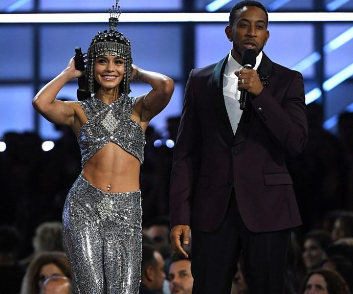 Vanessa channels the queen of dance.