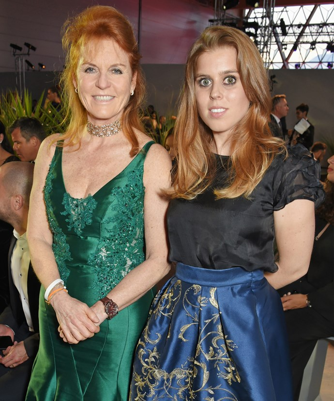 Sarah Ferguson and Princess Beatrice stepped out at the Fashion for Relief event in Cannes over the weekend.
