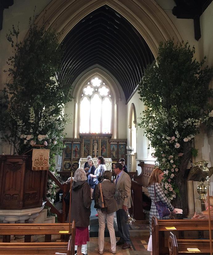 Inside St Marks.