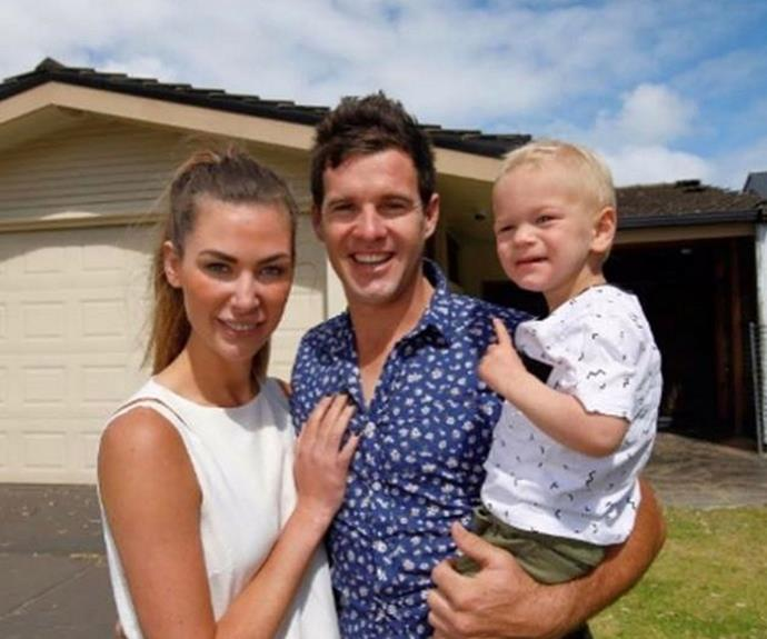 "Aw... [Kate and Harry](http://www.nowtolove.com.au/celebrity/tv/house-rules-kate-and-harry-angry-at-troy-and-bec-37653|target=""_blank"") with their little man Xavier!"