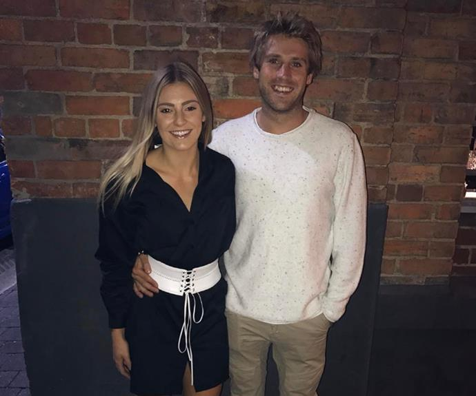 Ella and Sean managed to squeeze in a cheeky dinner date while filming.