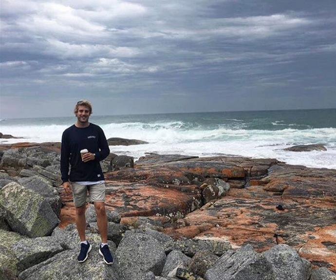 While Sean's house is getting renovated he's enjoying some time exploring his home state of Tassie.