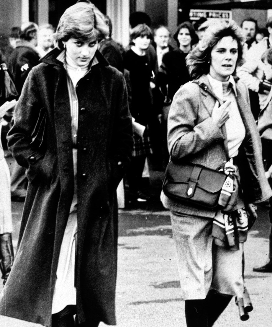 The late Diana and Camilla.