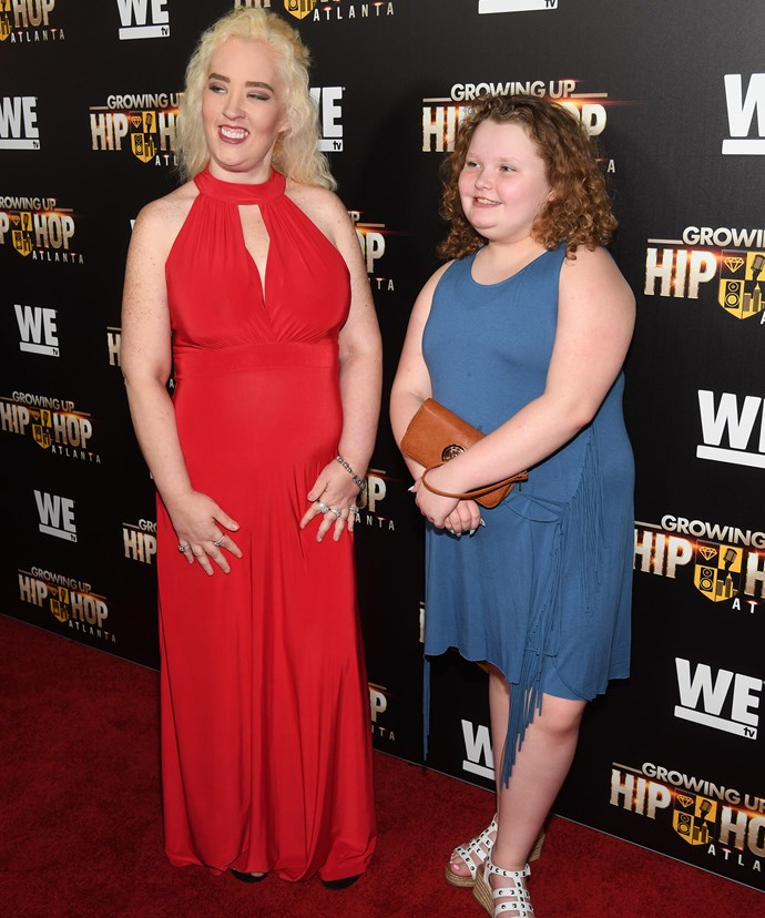 "Mama June was joined by her 11-year-old daughter, Alana ""Honey Boo Boo"" Thompson."