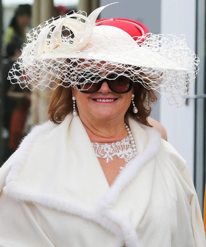 Gina Rinehart, 63, is the richest woman in Australia.