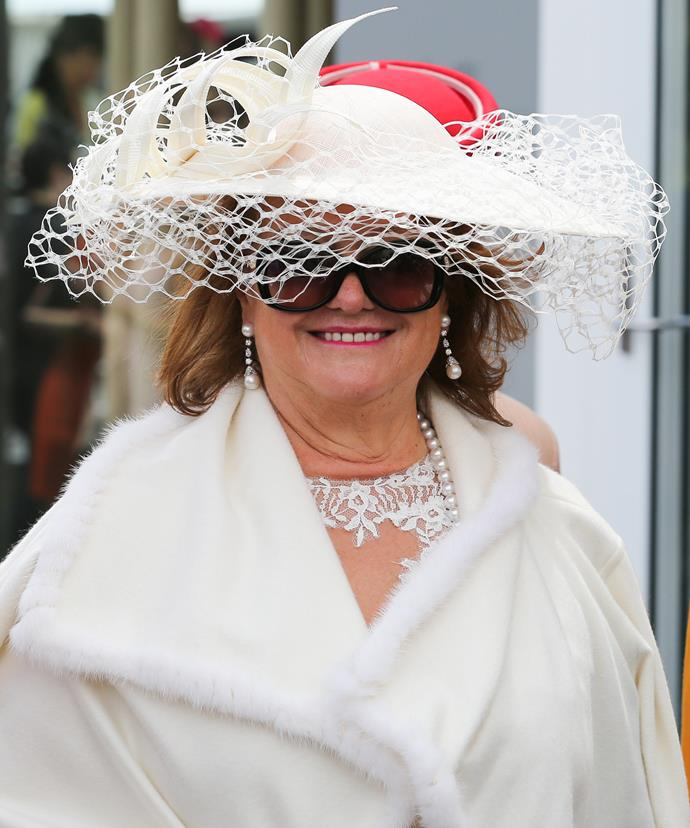 Gina Rinehart, 63, is the richest woman in Australia.