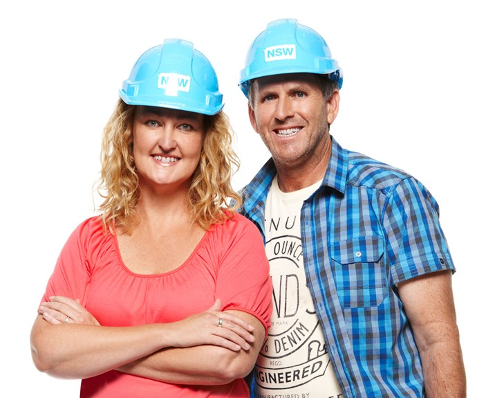 **Michelle and Steve**  For season one finalists Michelle and Steve, one reality renovation show wasn't enough. The couple also appeared on *Reno Rumble* in 2015. The pair didn't receive the warmest reception on *Reno Rumble* and things didn't go smoothly with their fellow *House Rules* contestants, Nick and Chris, Ben and Jemma, and Carly and Leighton.