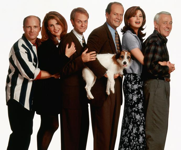 ***FRASIER* S1-11**  (Comedy, M, 287 episodes)  ★★★★   Few sitcoms stand the test of time like *Frasier*. Kelsey Grammer is superb as eccentric shrink Dr Frasier Crane, whose radio talk show is often 