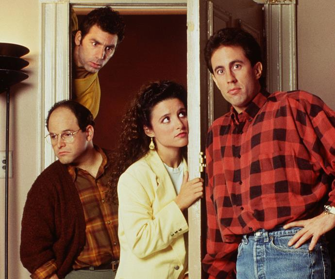 ***Seinfeld* S1-9**  (Comedy, PG, 180 episodes)  ★★★★★   When *Seinfeld* debuted in 1989, NBC thought it would 