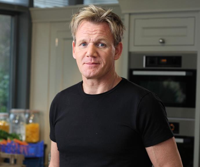 Outspoken English chef Gordon Ramsay.
