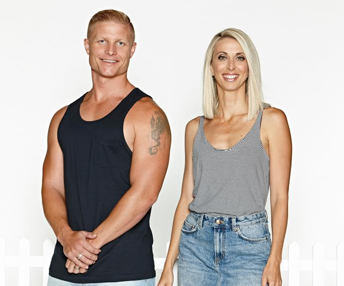 Daniella is competing on *House Rules* with her husband Aaron.
