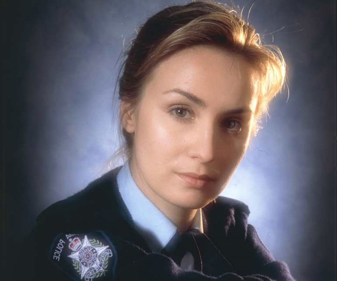 "**Senior Constable Maggie Doyle, *Blue Heelers* (1994-2000)** ""When I was filming the first episode, I remember feeling really excited and somewhat overwhelmed. I was blown away by people like John Wood, Julie Nihill and William McInnes. I felt I'd landed in the best place in the world as a young actor. John was like a dad to me. I saw him at his 70th birthday [in 2016]. He's actually on tour with a play with Julie later in the year. I miss them – they were such a formative part of my life."""