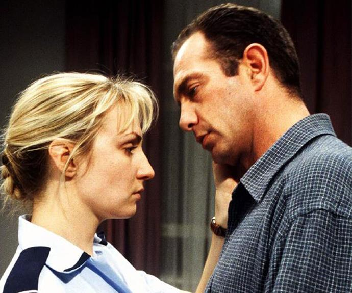 "**Senior Constable Maggie Doyle, *Blue Heelers* (1994-2000)** ""I don't know why people loved the relationship between Maggie and PJ [Martin Sacks] so much. I don't think it was intended to go that way. At the start, Maggie was like the jilted girl who Grant Bowler's character, Wayne, had passed over. Marty and I were such great mates – we laughed all day. I think the chemistry that was off-screen worked on-screen. He lives in a different state now, but I know he's one person who would always have my back, even now."""