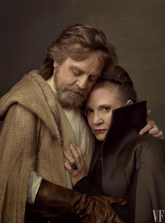 Mark and Carrie, the series longest standing characters. Photo courtesy of *Vanity Fair*.