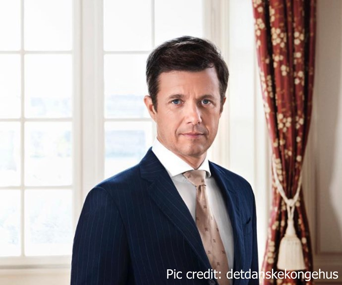 To mark Prince Frederik's 49th birthday, the Danish Palace released this stunning new portrait of Princess Mary's husband.