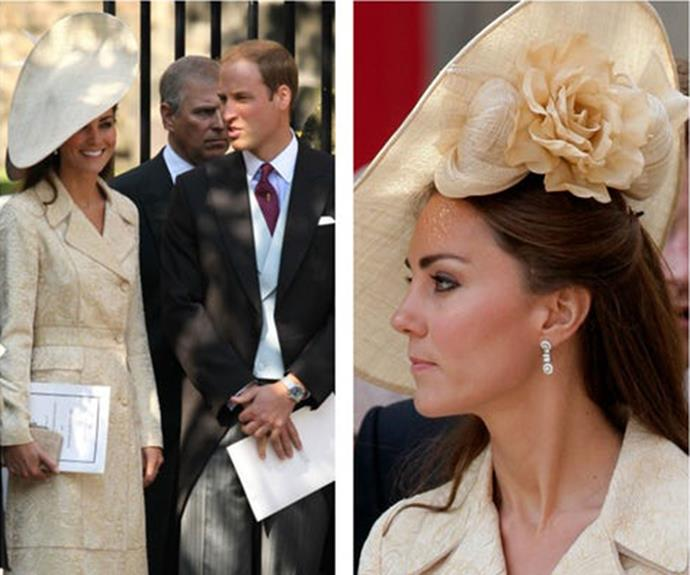 In 2011, at the wedding of Prince William's cousin Zara Phillips and Mike Tindall.