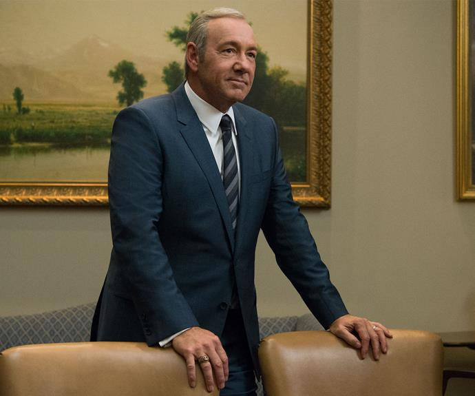 "**House Of Cards:** Frank (Kevin Space) and Claire (Robin Wright) Underwood are back and as ruthless as ever. Frank's new decision to ""work with fear"" will prove to be as unsettling as it sounds. [*House Of Cards*](http://www.nowtolove.com.au/celebrity/tv/house-of-cards-season-five-will-give-you-chills-37858