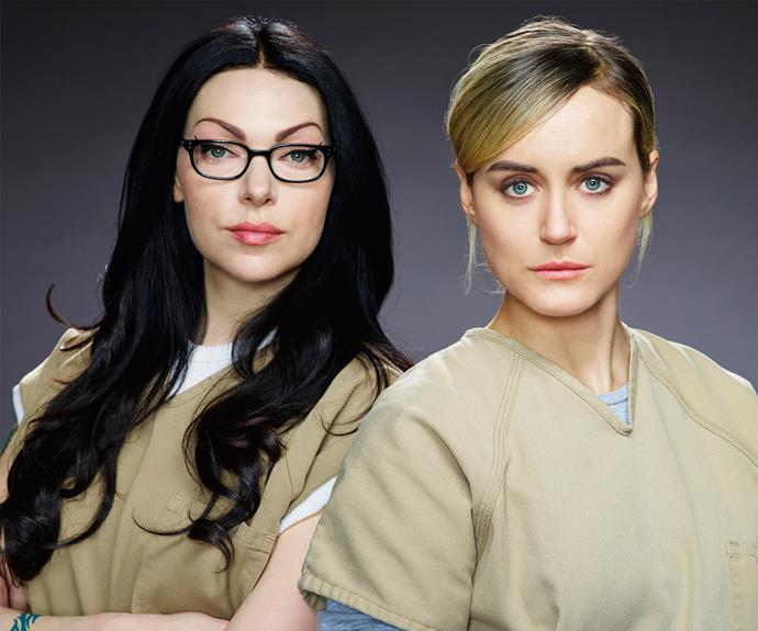 **Orange Is The New Black:** To say that season four ended on a MASSIVE cliff-hanger would be a MASSIVE understatement. Season five of the series will take place in real time over the course of just three days. *Orange Is The New Black* returns to Netflix on June 9.