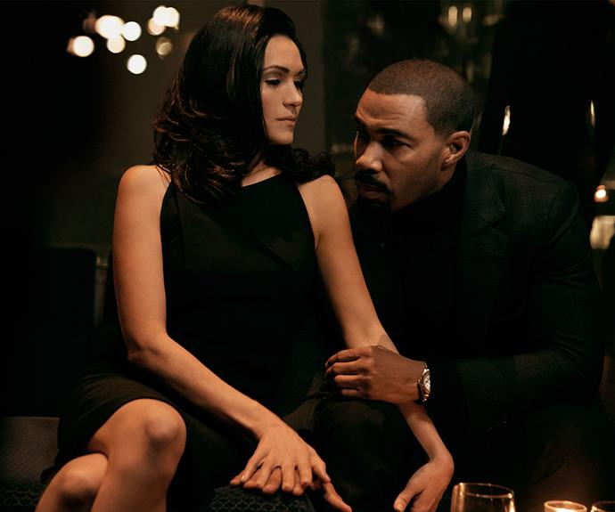 "**Power:** At the end of season three, James ""Ghost"" St Patrick (Omari Hardwick) was arrested by his ex-girlfriend, Assistant U.S. Attorney Angela Valdes (Lela Loren) for the murder of Greg Knox – a crime he did not commit. This season, Ghost's enemies pile up and his freedom and his family's safety are at risk. *Power* lands on Stan on June 26."