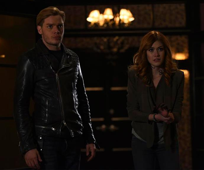 **Shadowhunters:** Based on the series of novels by Cassandra Clare, *Shadowhunters: The Mortal Instruments: Season 2B* continues with Clary (Katherine McNamara) having to finally choose between Jace (Dominic Sherwood) and Simon (Alberto Rosende). Cue all the teen angst with a hefty side serving of supernatural drama. *Shadowhunters* returns to Netflix on June 6.