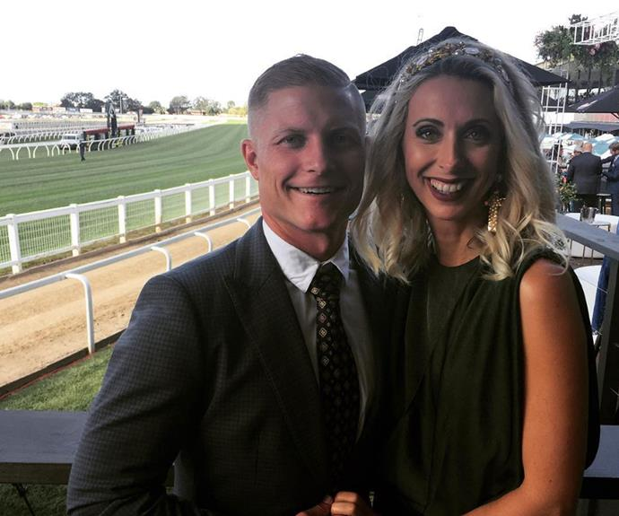Daniella and Aaron scrub up for the races.