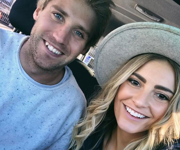 Sean and Ella pose for a cheeky selfie! What a good looking pair!