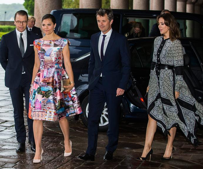 Daniel, Victoria, Mary and Fred get their strut on.