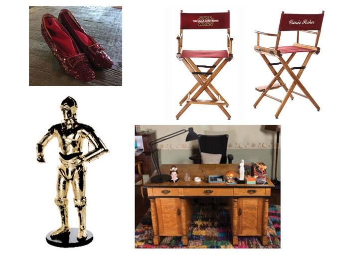 A selection of items up for auction. Images via Profiles in History.