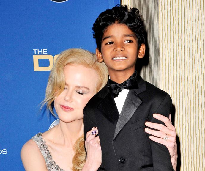 """""""She gave me a lot of love on set, like she was my own mother,"""" Nic's littlest *Lion* co-star Sunny Pawar tells [MailOnline](http://www.dailymail.co.uk
