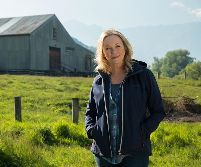 Rebecca Gibney as Lola Buckley in *Wanted*.