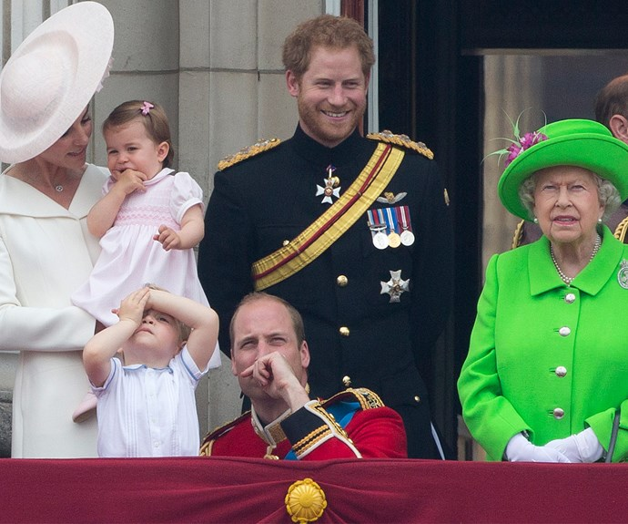 Prince Harry can relate to his young nephew's boredom.