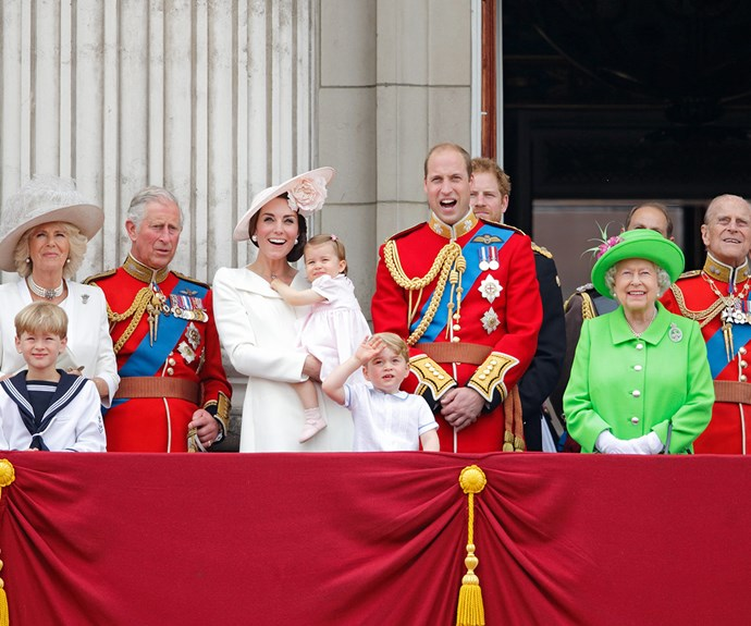 The pageantry and spectacle played out in front of millions across the globe.