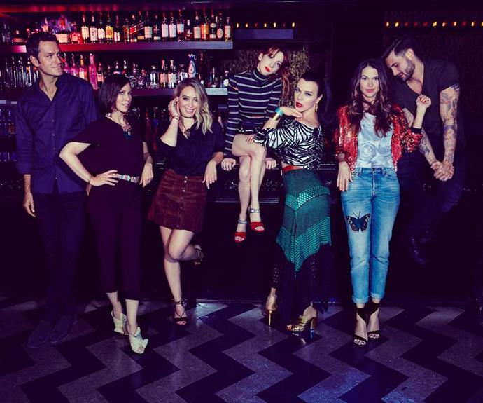 **Now?** Hilary plays Kelsey Peters in the TV series *Younger*.