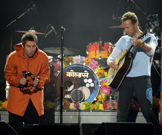 Fans were left gobsmacked when local hero and Oasis singer Liam Gallagher made a surprise performance with Coldplay.